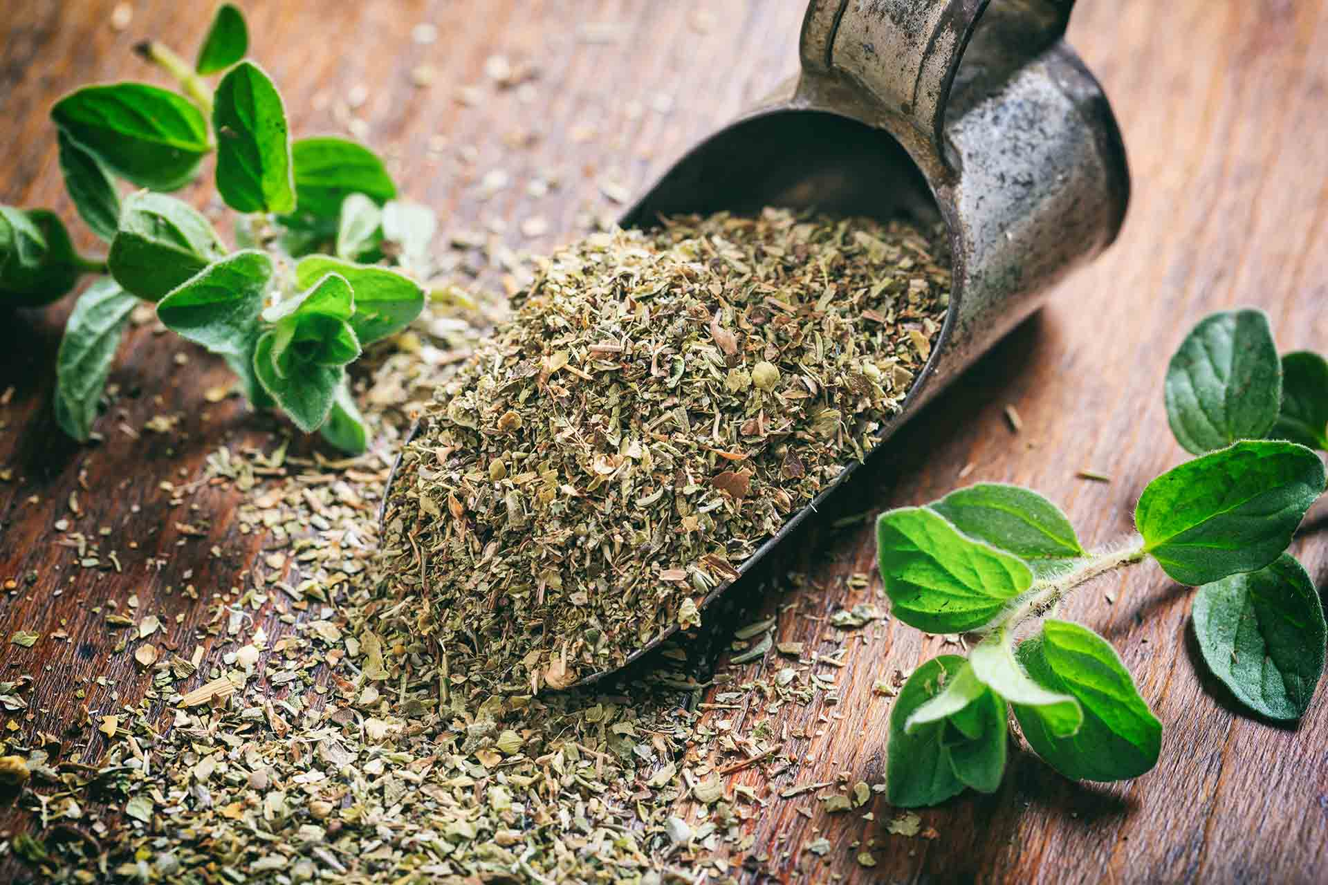 Falsified oregano has higher contaminant levels